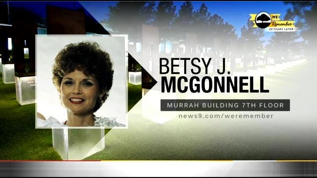 We Remember - 20 Years Later: Betsy McGonnell