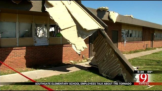 Employees At Southgate Elementary Hunkered Down During Moore Tornado