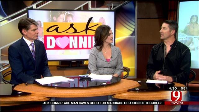 Ask Donnie: Are Man Caves Good For Marriage Or A Sign Of Trouble?
