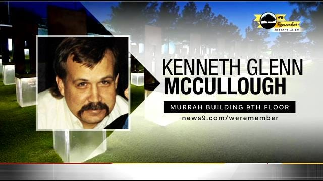 We Remember - 20 Years Later: Kenneth McCullough
