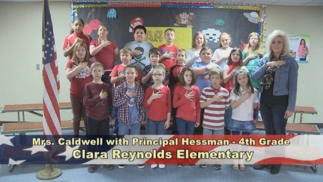 Mrs. Caldwell's 4th Grade Class At Clara Reynolds Elementary School