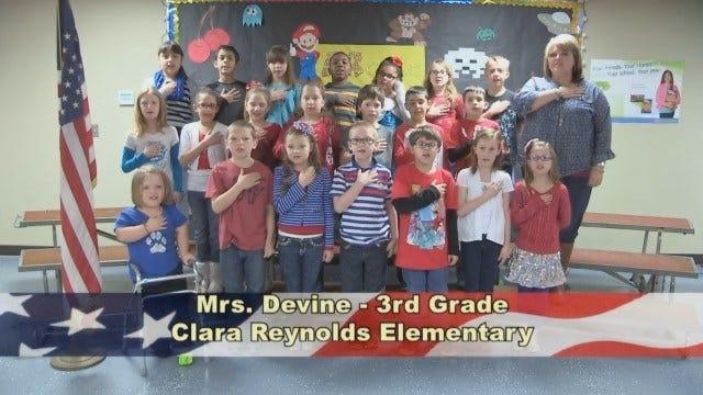 Mrs. Devine's 3rd Grade Class At Clara Reynolds Elementary School