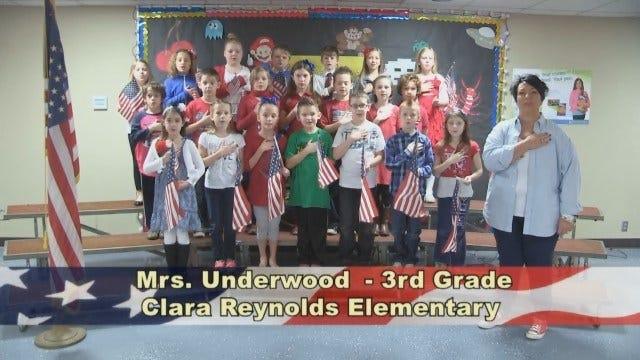 Mrs. Underwood's 3rd Grade Class At Clara Reynolds Elementary School