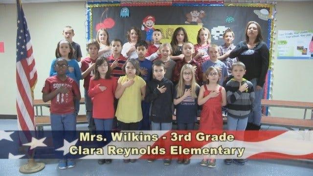 Mrs. Wilkins' 3rd Grade Class At Clara Reynolds Elementary School