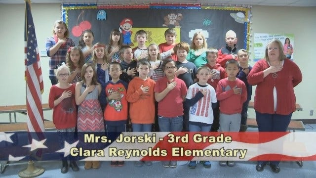 Mrs. Jorski's 3rd Grade Class At Clara Reynolds Elementary School