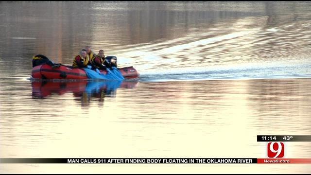 Body Discovered In Oklahoma River