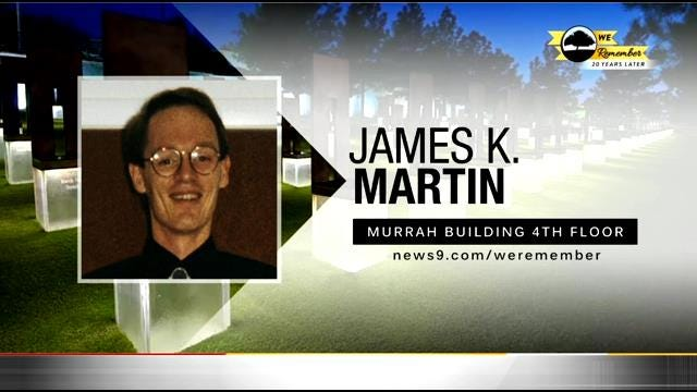 We Remember - 20 Years Later: James Martin