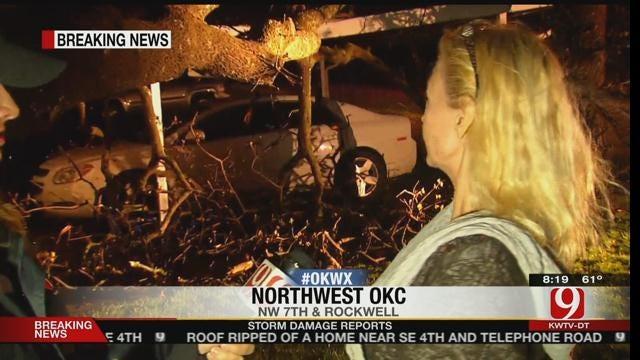 WEB EXTRA: Damage Near Rockwell in NW OKC