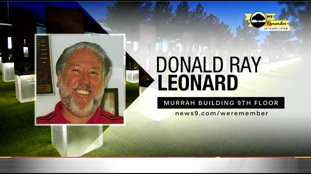 We Remember – 20 Years Later: Donald Leonard