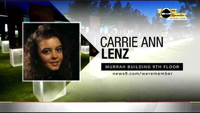 We Remember - 20 Years Later: Carrie Lenz & Baby