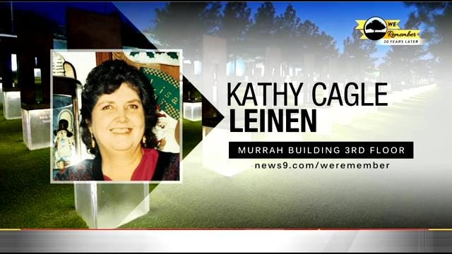 We Remember - 20 Years Later: Kathy Leinen