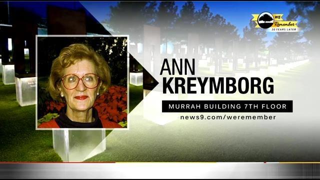 We Remember - 20 Years Later: Ann Kreymborg
