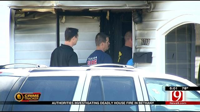 Authorities Treating Deadly House Fire In Bethany As Homicide