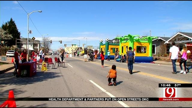 Thousands Enjoy 'Open Streets OKC' On Northwest 23rd