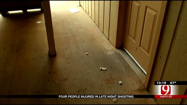 Residents Rattled After Gunfire Erupts In NE OKC Apartment