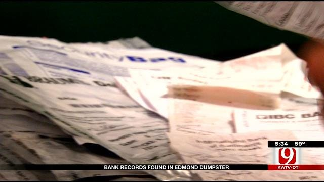 Metro Man Finds IBC Bank Account Numbers, Deposit Slips Dumped In His Trash Can