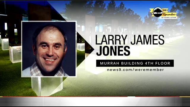 We Remember - 20 Years Later: Larry Jones