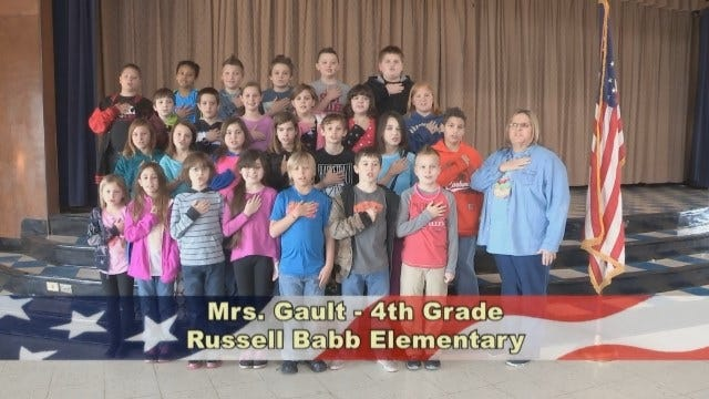 Mrs. Gault's 4th Grade Class at Russell Babb Elementary School