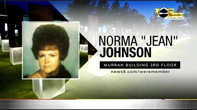 We Remember - 20 Years Later: Norma Johnson