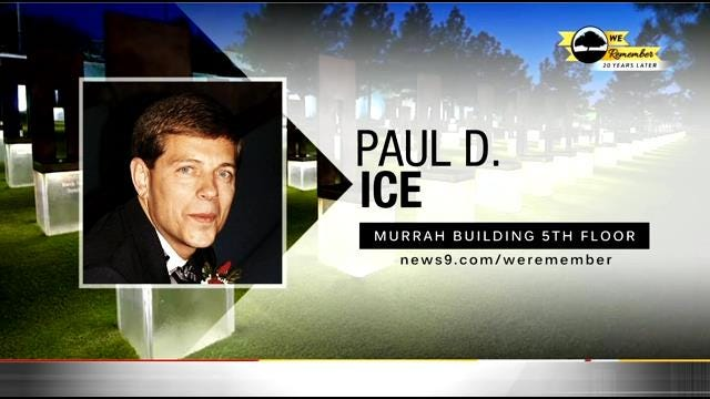 We Remember - 20 Years Later: Paul Ice