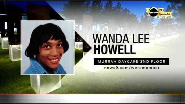 We Remember - 20 Years Later: Wanda Howell