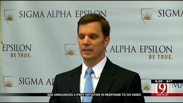 SAE Executive Director Announces 4-Part Initiative In Response To OU Video