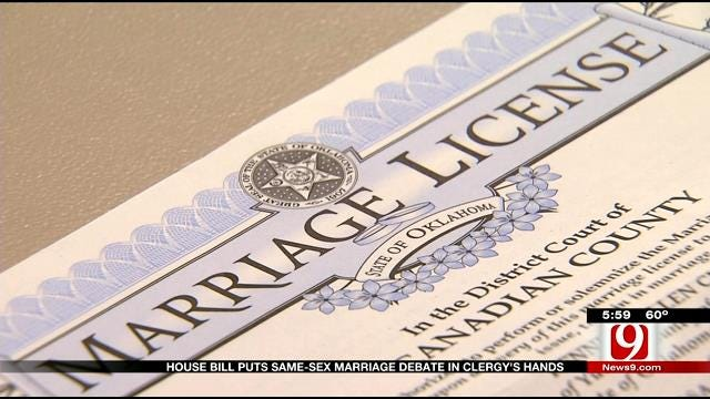 House Bill May Take Government Out Of Marriage