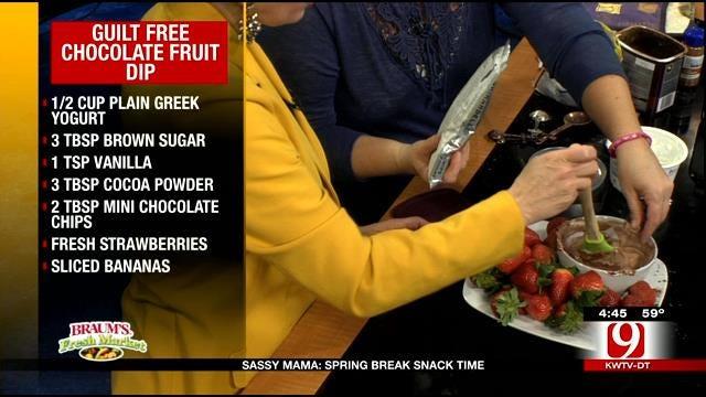Guilt Free Chocolate Fruit Dip