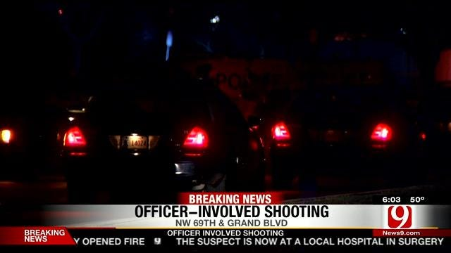 Suspect Shot By OKC Police After Pointing Gun At Officers