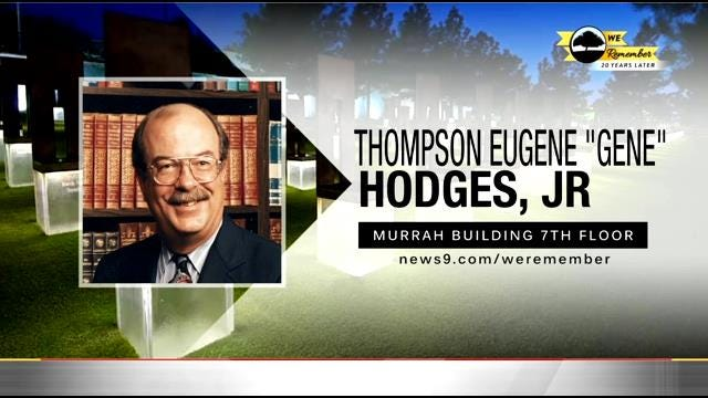 We Remember – 20 Years Later: Thompson Hodges