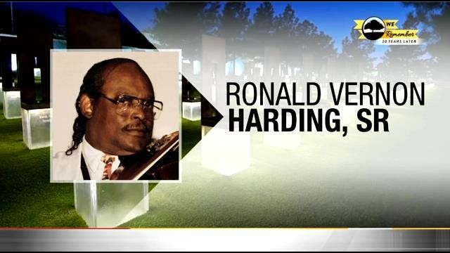 We Remember - 20 Years Later: Ronald Harding, Sr