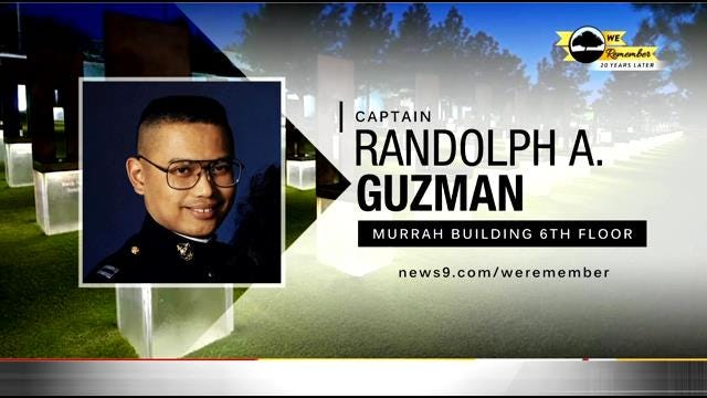 We Remember - 20 Years Later: Randolph Guzman