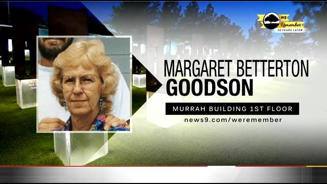 We Remember - 20 Years Later: Margaret Goodson