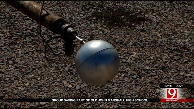 Red Dirt Diaries: John Marshall Alumni Salvage 85-Year-Old Flagpole