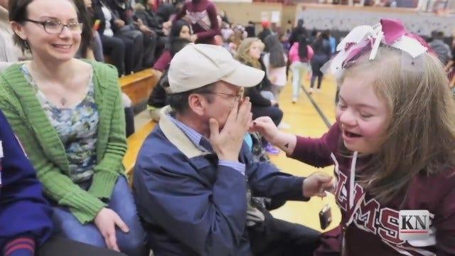 WEB EXTRA: Kenosha News Video Of D's House Celebration