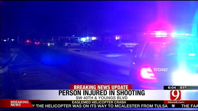 Police Respond to Shooting In SW OKC Thursday Night