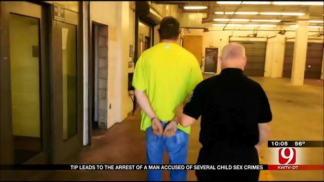 Tip Leads To Edmond Man's Arrest For Child Sex Crimes
