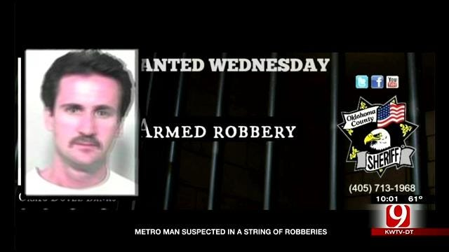 Metro Man Suspected In A String Of Robberies