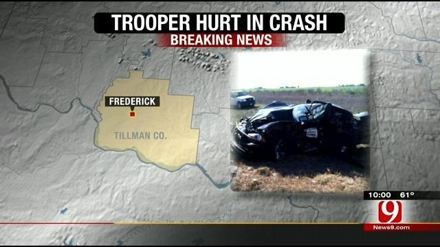 OHP: Trooper Involved In Crash Near Frederick