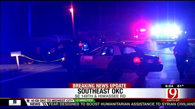 Three Recovering Following Crash Involving Police Car In SE OKC