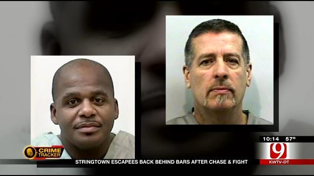 Stringtown Escapees Back Behind Bars After Leading Police On Multi-State Chase