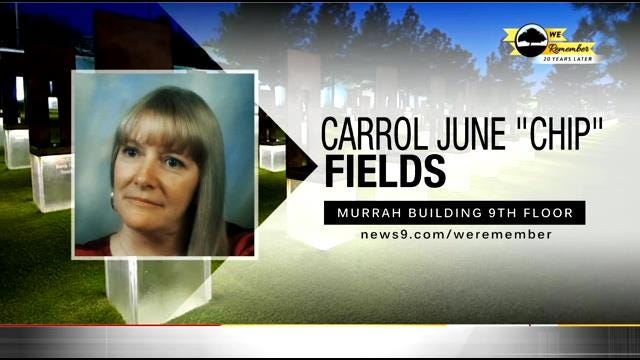 We Remember - 20 Years Later: Carrol Fields