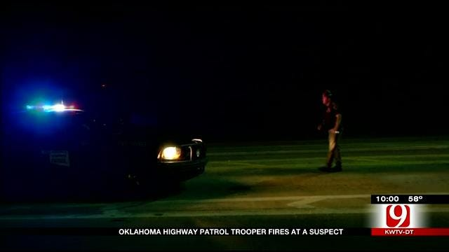 OHP: Trooper Shoots At Suspect On Turner Turnpike, No Injuries