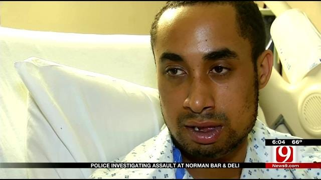 Norman Man Suffers Broken Jaw, Shocked No Witnesses Are Talking