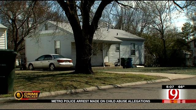 OKC Man Facing Allegations Of Choking, Biting And Duct-Taping Diaper To Child
