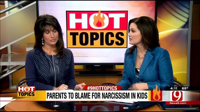 HOT TOPICS: Parents To Blame For Children's Narcissism