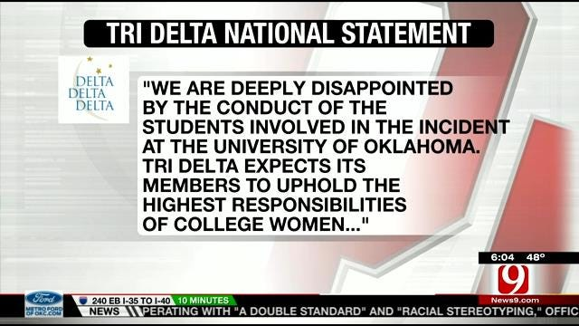Tri Delta National Chapter Releases Statement Concerning SAE Video