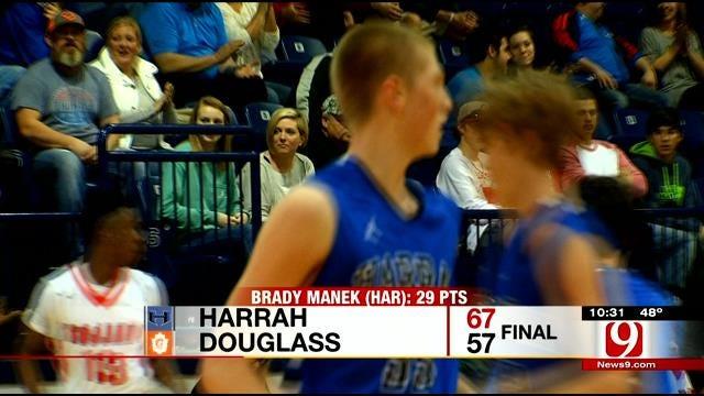 Harrah Boys Take Down Douglass