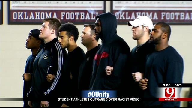 OU Students, Athletes Express Outrage Over Racist Fraternity Video