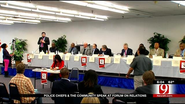 Police Chiefs And Communities Gather To Discuss Relations In The Metro